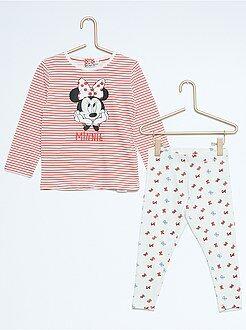 Fille 3-12 ans Pyjama 2 pièces 'Minnie'