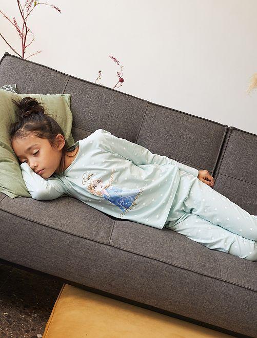 Pyjama 2 pièces 'Reine des Neiges 2'                             bleu