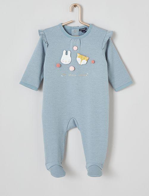 Pyjama à volants                                         bleu