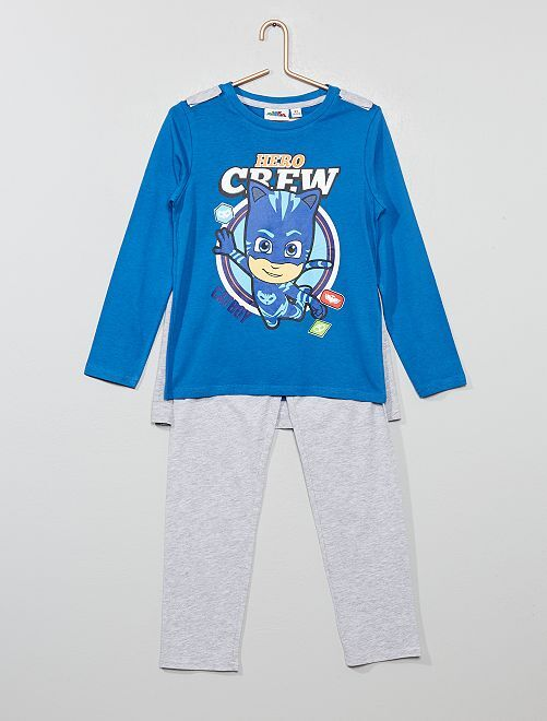 Pyjama avec cape 'Pyjamasques'                             bleu saphir