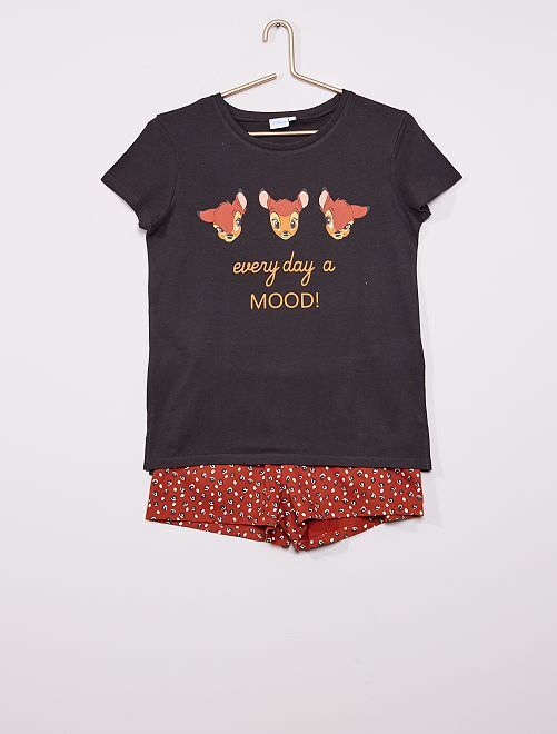 Pyjama 'Simba'                     noir/marron