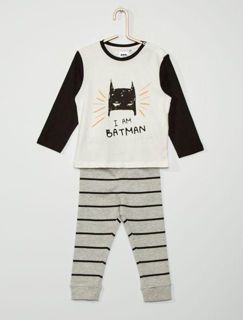 Pyjama 'Batman'                             blanc
