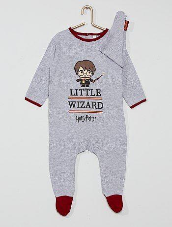 Pyjama + bavoir en coton 'Harry Potter'