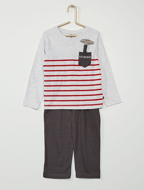 Pyjama bricoleur                                         GRIS
