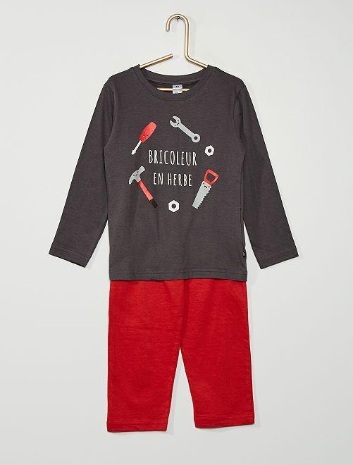 Pyjama bricoleur                                         ROUGE