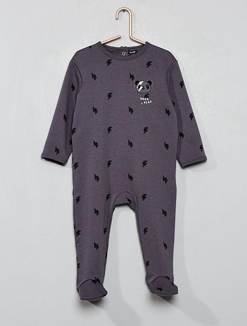 Pyjama chaud                             gris Bébé garçon