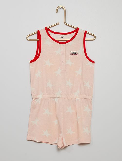 Pyjama combinaison                                         rose