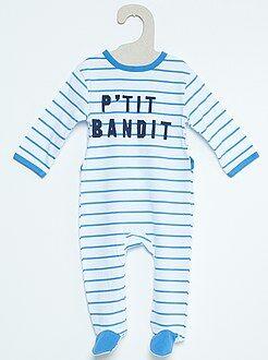 Pyjama coton imprimé