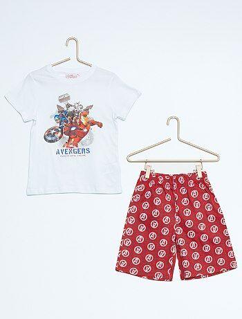 Pyjama court `Avengers`