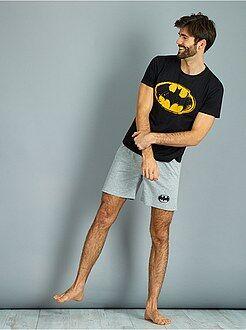 Pyjama, peignoir - Pyjama court 'Batman' - Kiabi