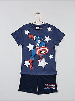 Pyjama court 'Captain America' - Kiabi
