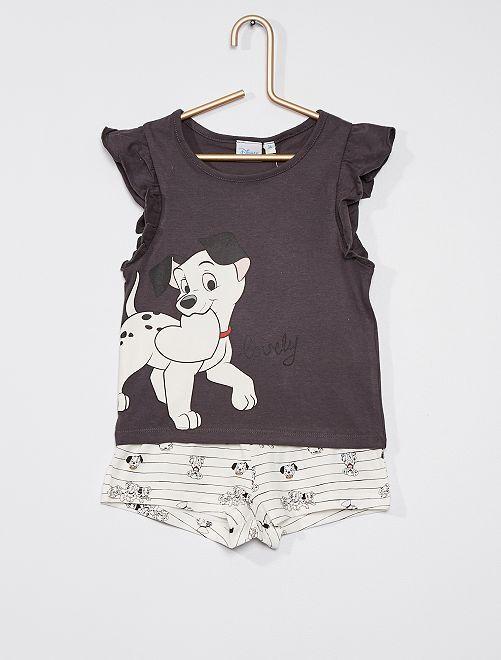 Pyjama court Disney                                         blanc