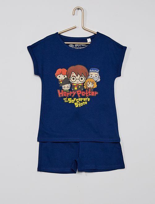 Pyjama court 'Harry Potter'                             noir