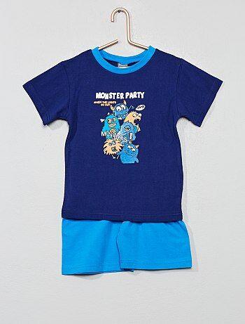 2dcb724632b96 Soldes pyjama court enfant garçon, pyjashort garçon Vêtements garçon ...