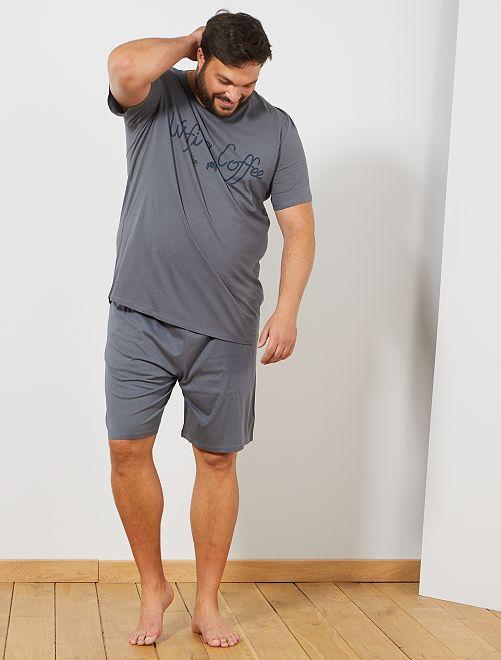 Grande Pyjama Pyjama Short Short Homme Taille Grande thrsCQdx