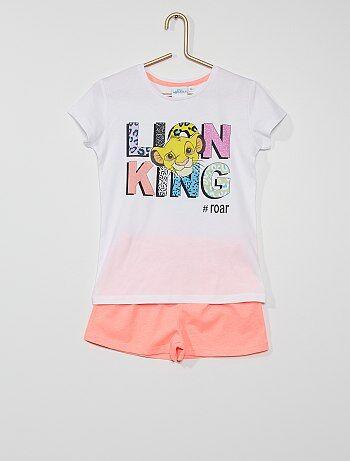 Pyjama court 'Le Roi Lion'