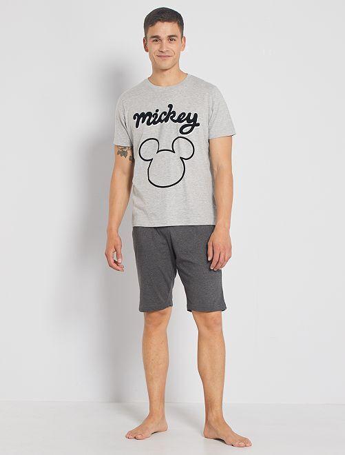 Pyjama court 'Mickey'                                         gris