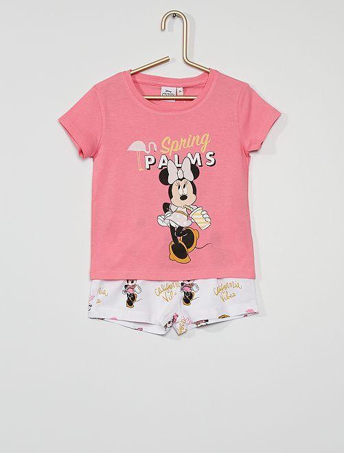Pyjama court 'Minnie'                             blanc