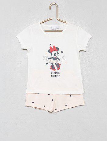 71b4ce41a052d Pyjama court  Minnie  - Kiabi