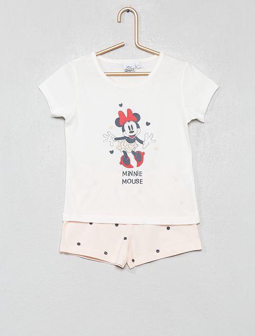 Pyjama court 'Minnie'                             écru