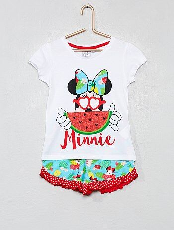 4f54e5324f0a5 Pyjama court  Minnie  - Kiabi