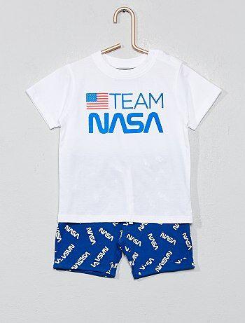 3c6b7694e7432 Garçon 0-36 mois - Pyjama court  NASA  - Kiabi