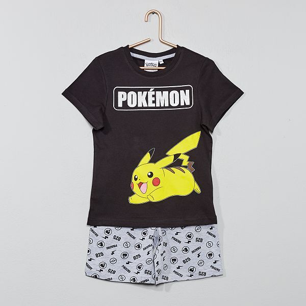 Pyjama court 'Pikachu'