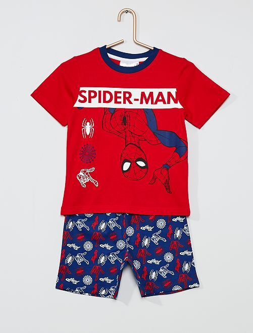 Pyjama court 'Spider-man' 'Marvel'                             rouge