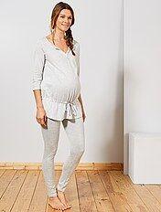 acheter en ligne construction rationnelle comment trouver Pyjama de maternité, pyjama Vêtement de grossesse   Kiabi