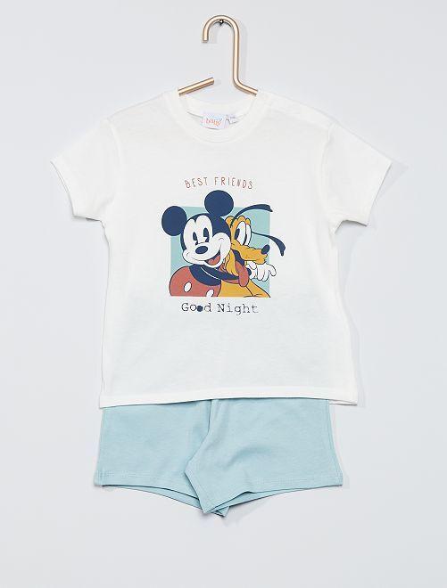 Pyjama 'Disney' 2 pièces                             blanc/bleu