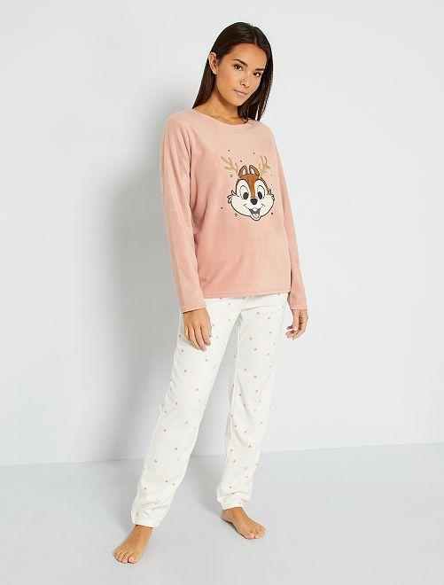 Pyjama 'Disney' + boîte cadeau                                                                 rose/écru