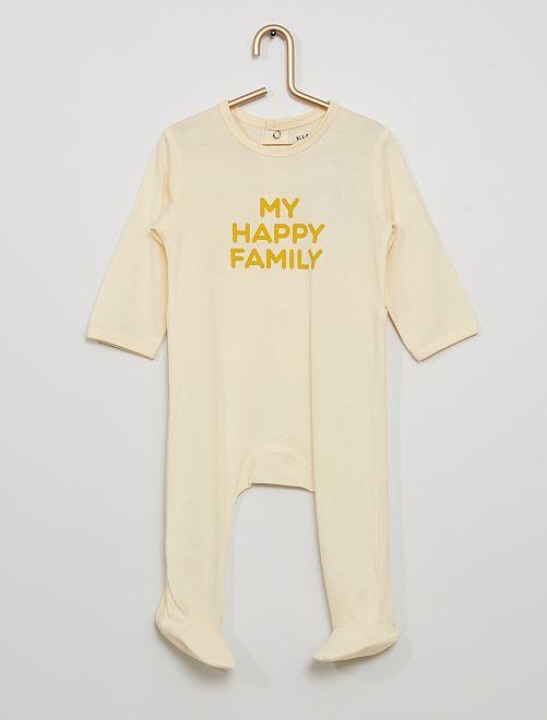 Pyjama éco-conçu                                                                                         blanc