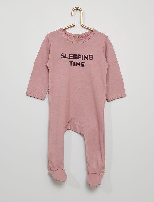 Pyjama éco-conçu                                                                                         violet
