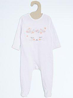 Pyjama en coton - Kiabi