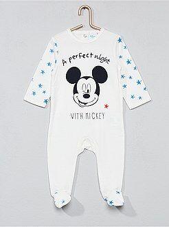 Pyjama en coton 'Mickey' - Kiabi