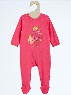 Pyjama, peignoir - Pyjama en coton