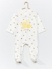 12-18 et 18-24 mois Bébés filles Cœur rose polaire peignoir pour bébé 6-12
