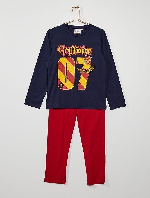 Pyjama en jersey 'Harry Potter'                                         bleu