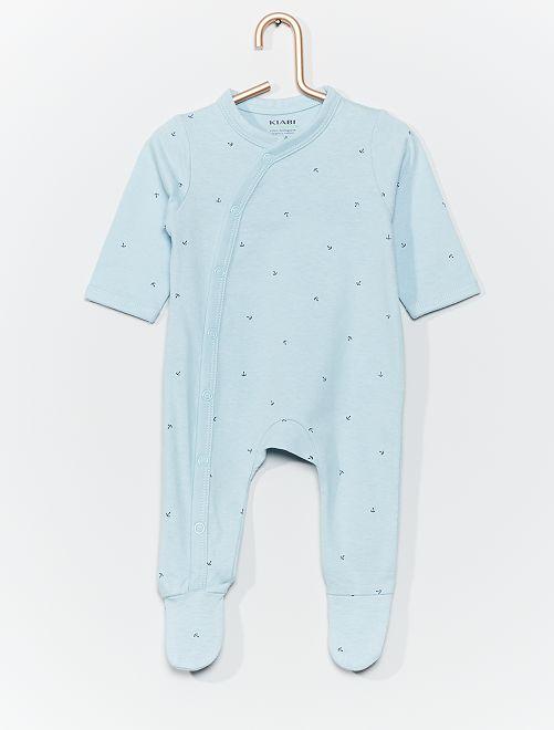 Pyjama en jersey imprimé                                                                                         bleu/ancre