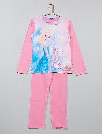 Pyjama en jersey 'La Reine des Neiges' - Kiabi