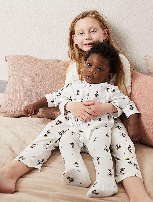 Pyjama en jersey 'Mickey'                             blanc Bébé garçon