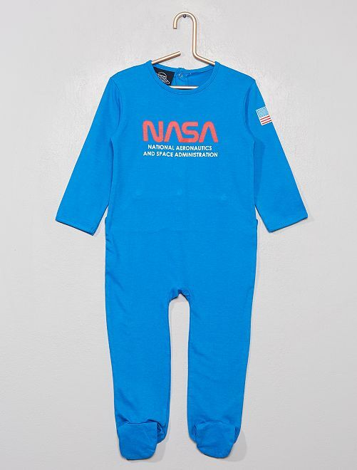 Pyjama en jersey 'NASA Space Adventure'                             bleu