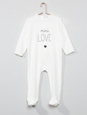 1bc8d558dcda6 Pyjama Vêtements bébé | blanc | Kiabi