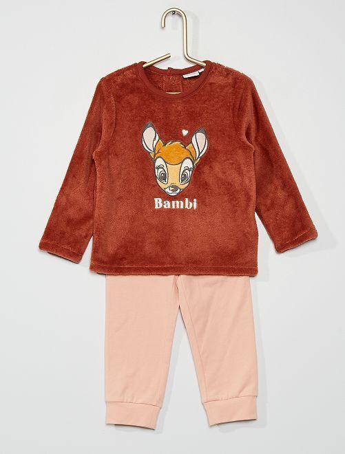 Pyjama en velours 'Disney'                                         ROSE