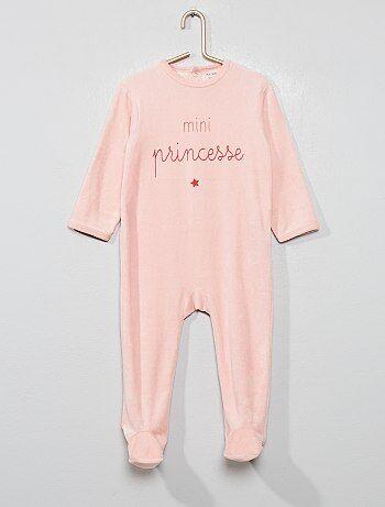 ac916cf1313cb Soldes pyjama pour bébé - velours, coton - mode bébé Vêtements bébé ...