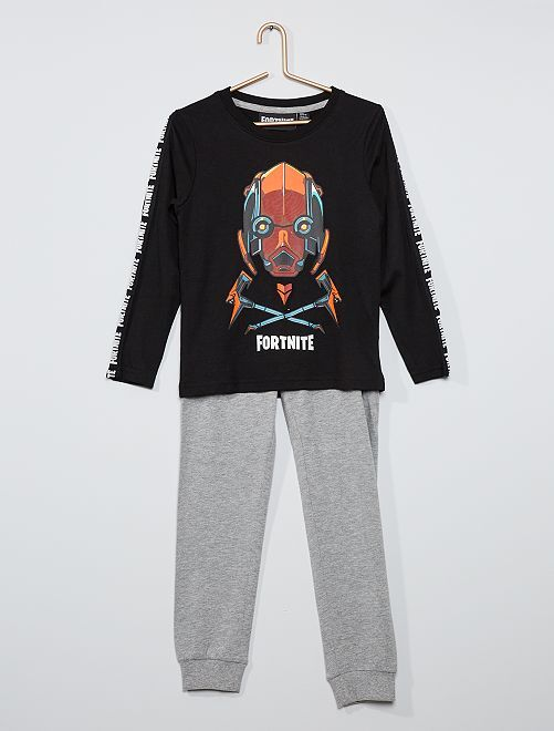 Pyjama 'Fortnite'                             gris/noir