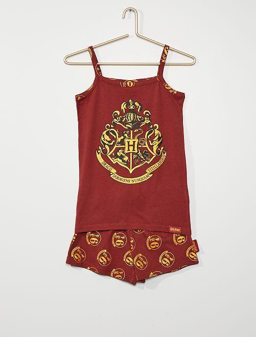 Pyjama 'Harry Potter'                             bordeaux