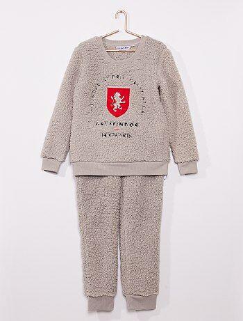 Pyjama 'Harry Potter' fourrure