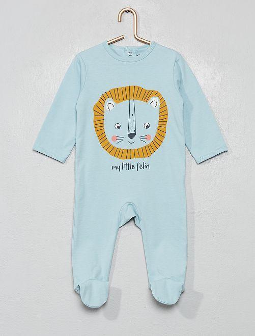 Pyjama imprimé                                                                                                                                                                                                                                                                             bleu/lion