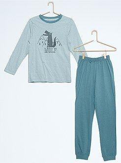 Pyjama, peignoir - Pyjama imprimé